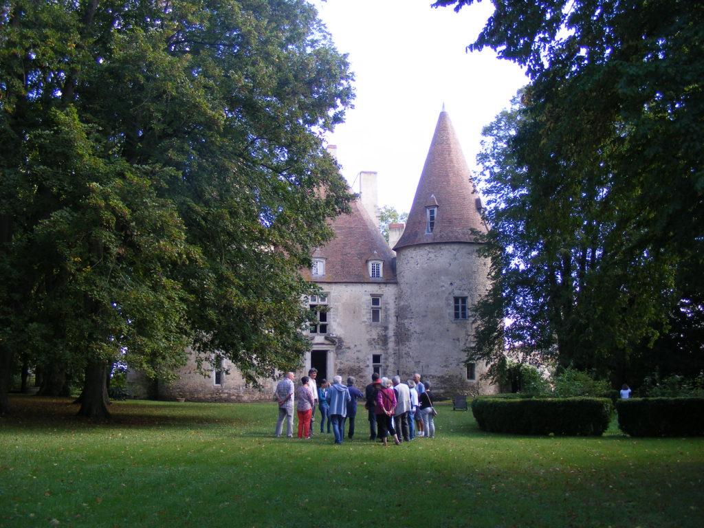 Jardins du château de Bellenaves