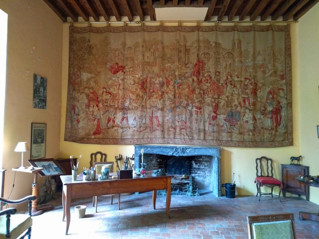 Château de Bellenaves salon1