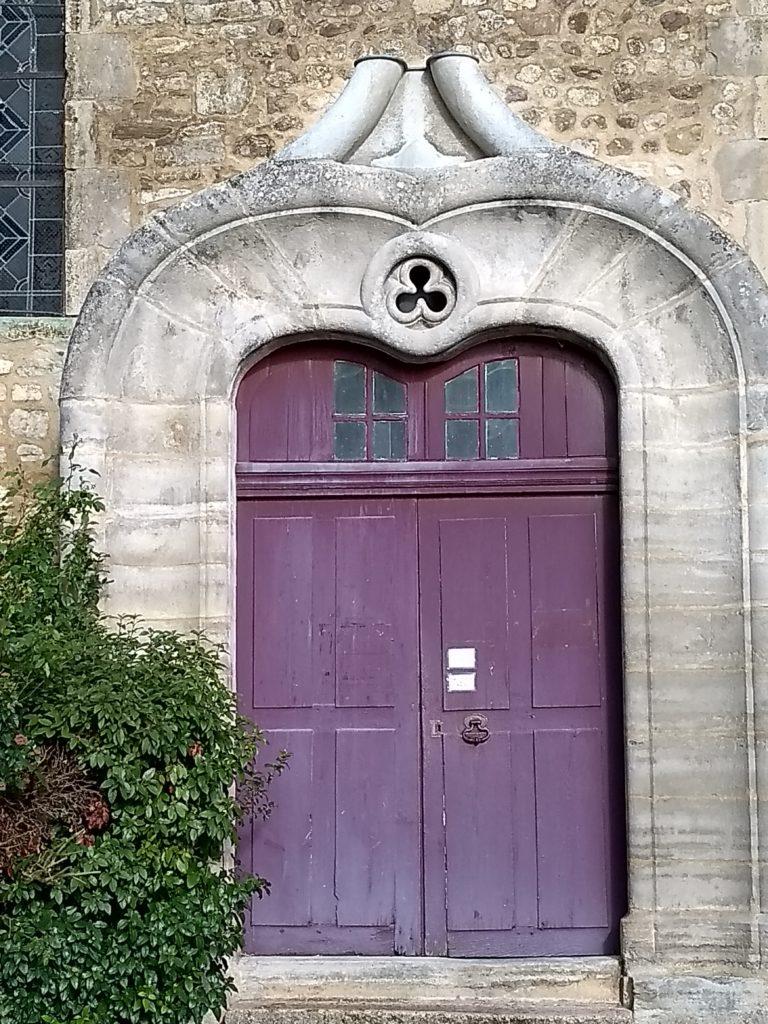 Entrée Sud porte Renaissance Eglise de Bellenaves