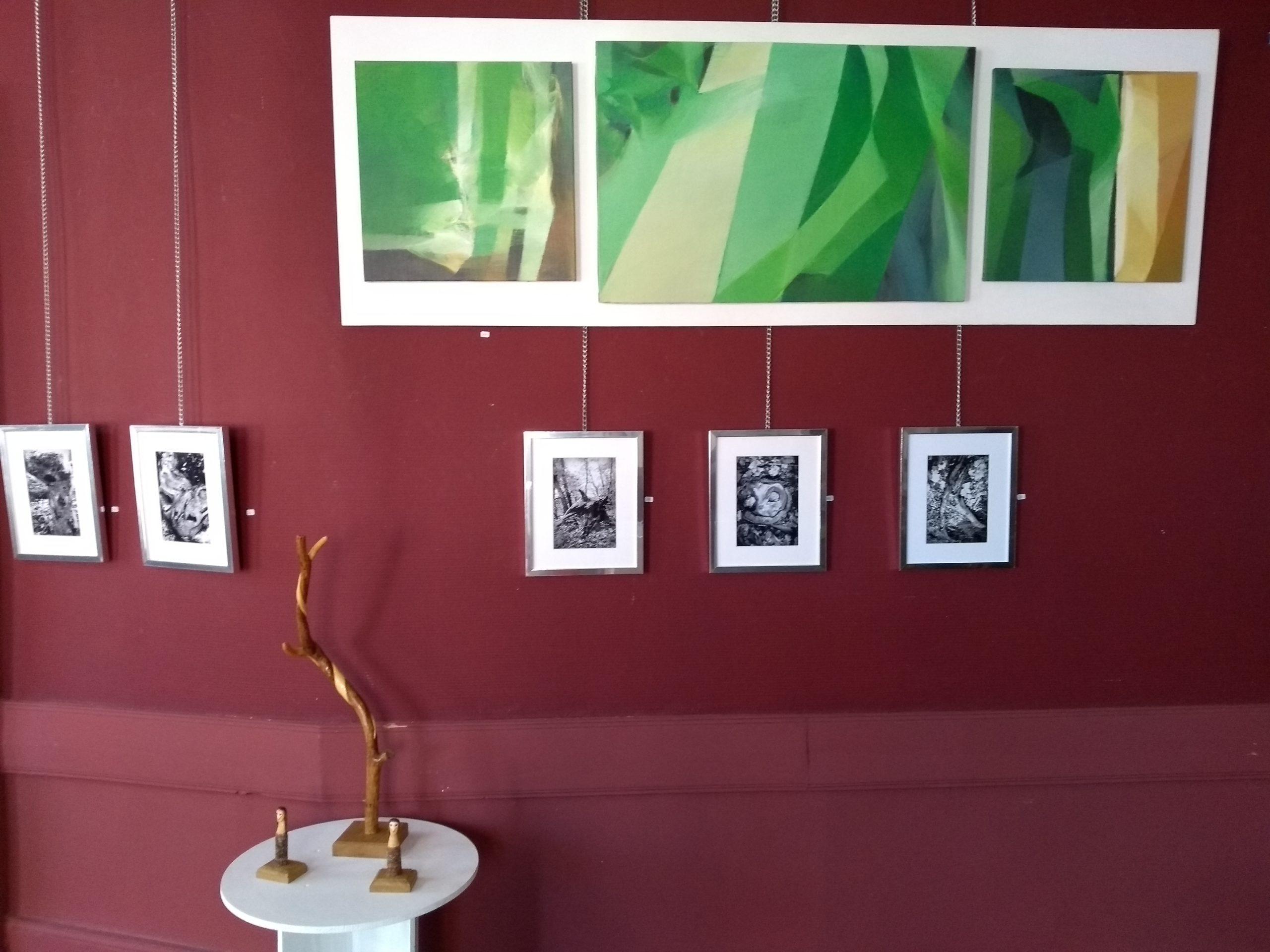 Louis Paul Baudot (peintures), Anne Marie Rouyillard (photos) et Xavier Thabarant (sculptures)