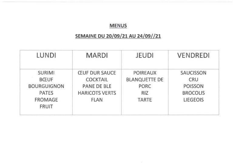 menu cantine 2